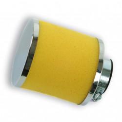 Filtro 80x80mm espuma 28/35 45'.Amarillo
