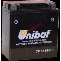 BATERIA UNIBAT BTX16-BS
