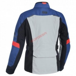 CHAQUETA MONDIAL ADVANCED MS GRIS/AZUL/ROJO T-4XL