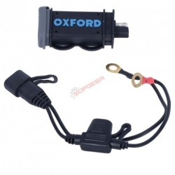 ADAPTADOR TOMA MECHERO OXFORD USB 2.1AMP