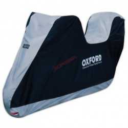 FUNDA MOTO OXFORD AQUATEX T-L C/PORTACASCO