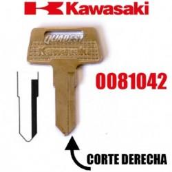 LLAVE VIRGEN KAWASAKI CORTE DERECHA