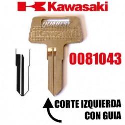 LLAVE VIRGEN KAWASAKI CORTE IZQUIERDA CON GUIA