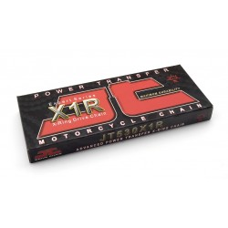 Cadena JT 530X1R con 110 eslabones negro