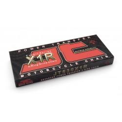 Cadena JT 530X1R con 122 eslabones negro