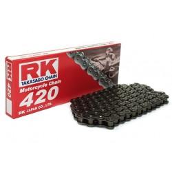 Cadena RK 420M con 124 eslabones negro