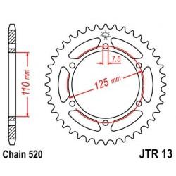 Corona JT 13 de acero con 39 dientes