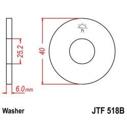 Arandela piñon JT 518B de acero