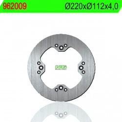 Disco de freno NG 009 Ø220 x Ø112.1 x 4