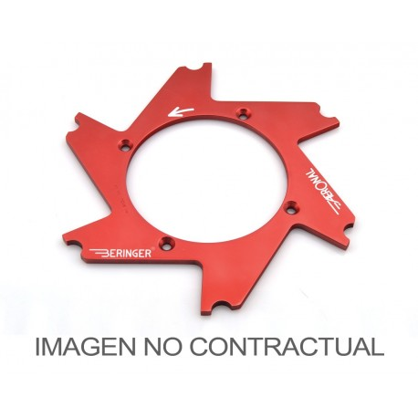 Parte central de disco Aeronal® Izquierda plana. Color AZUL. (K14LGBL)
