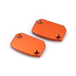 Tapa deposito bomba freno/embrague naranja Brembo