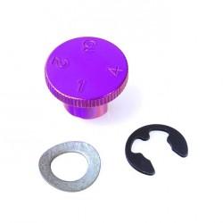 Regulador maneta 4 posiciones Pro-Bolt Aluminio violeta LDA10P