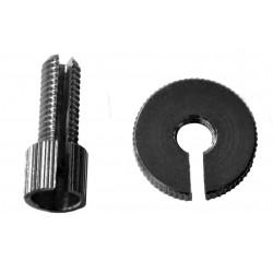 Tensor de Pro-Bolt M8 (1 piezass) Aluminio negro LCA10BK