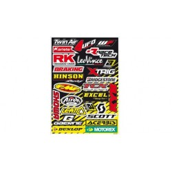 Kit Adhesivos sponsors Blackbird Racing 5076A