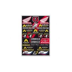 Kit Adhesivos Honda Gariboldi Blackbird Racing 5076G
