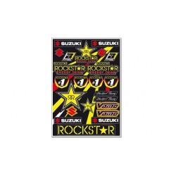 Kit Adhesivos Suzuki Rockstar Vamo Blackbird Racing 5076S