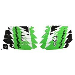 Adhesivos Para Rejillas Radiador KXF 250 '09-'12 Blackbird Racing A402E