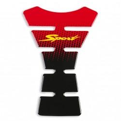 Protector deposito Sport Rojo
