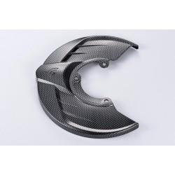 Protector disco delantero look carbono