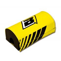 Protector de Manillar sin Barra Superior Amarillo Blackbird Racing 5043/40