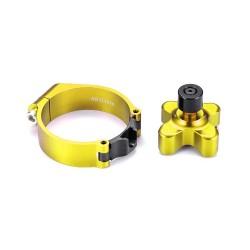 Bloqueo de horquilla amarillo Suzuki