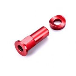 Tuerca de freno cubierta largo rojo