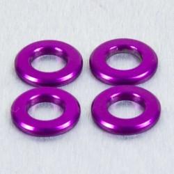 Arandela de Aluminio M5 violeta LWA5P