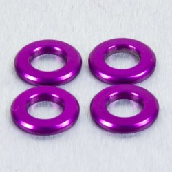 Arandela de Aluminio M6 violeta LWA6P