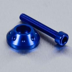 Arandela cónica de Aluminio (25mm ØExt.) para usar con tornillo Allen c/cilíndrica azul LWAPB625B