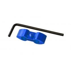 Separador de cable Pro-Bolt Aluminio azul HOSESEP10B