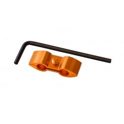 Separador de cable Pro-Bolt Aluminio naranja HOSESEP10O