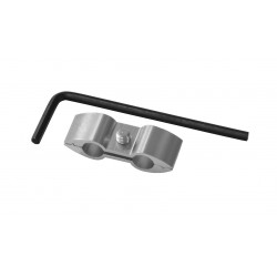 Separador de cable Pro-Bolt Aluminio plata HOSESEP10S