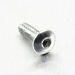 Tornillo de Aluminio Pro-bolt cabeza redondeada M4 x (0.5mm) x 12mm Fine plata LFB412FS