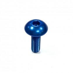 Tornillo de Aluminio Pro-bolt cabeza redondeada M5 x (0.8mm) x 16mm azul LFB516B