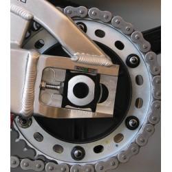Tornillería de corona 10mm x 1,25 (6 pack) Aluminio negro Pro-Bolt SPN10BK