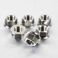 Tornillería de corona 10mm x 1,25 (6 pack) acero inox Pro-Bolt SS6SPN10
