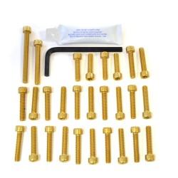 Kit tornillería de motor Pro-Bolt Aluminio oro CBR600 f1-f5 '00-'04 EHO087G