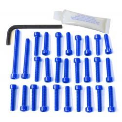 Kit tornillería de motor Pro-Bolt Aluminio azul CBR600RR 03-06 EHO098B