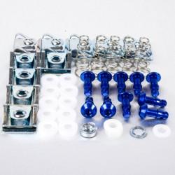 Tornillo rápido c/allen 17mm Pro-Bolt (10 pack) Aluminio azul QRPACKAKSLIDE17B