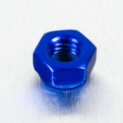 Tuerca de Aluminio Pro-Bolt autoblocante M5 azul LNYN5B