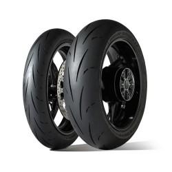 Pack Dunlop D211 GP Racer 120+180 Comp M+E ( Dot 018)