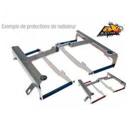 Protectores de radiador aluminio rojo AXP Husqvarna AX1118