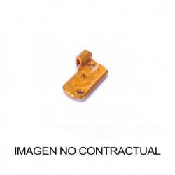 Tapadera de depósito integrado para Bomba descompresor anodizada. Color NEGRO. (COU3B)