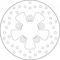 Disco de freno Brembo 68B407M3