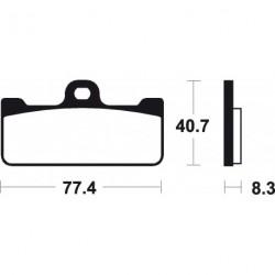 Pastillas de freno sinterizadas racing Brembo 07BB10SC