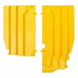 Aletines de radiador Polisport Suzuki amarillo 8456100002