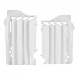 Aletines de radiador Polisport Honda blanco 8455700003
