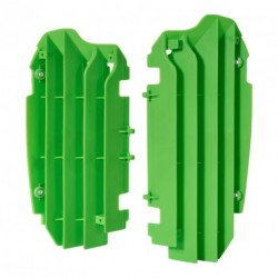 Aletines de radiador Polisport Kawasaki verde 8455900002