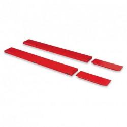 Rampas de extensión de anchura para elvador de taller 210cm