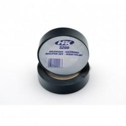 Rollo de cinta aislante para cables y terminales. 15mmx10m. Color negro HPX5200